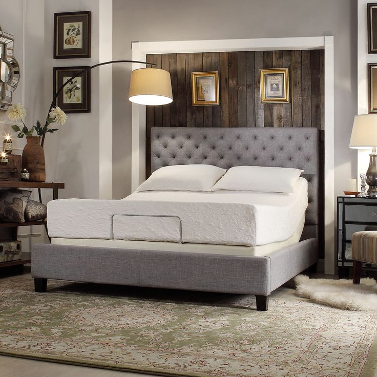 17 Best Images About Beds On Pinterest Upholstered Beds Foam Headboard And Furniture