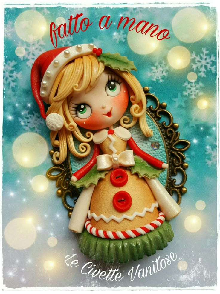Doll fimo polymer clay