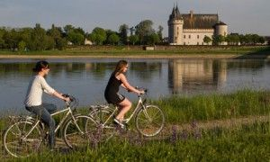 Cycling in the Loire valley, France