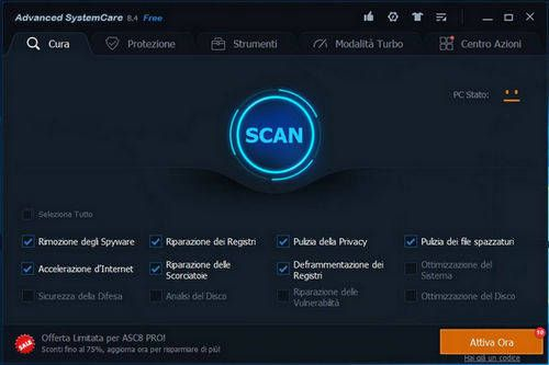 Advanced SystemCare 8 Free