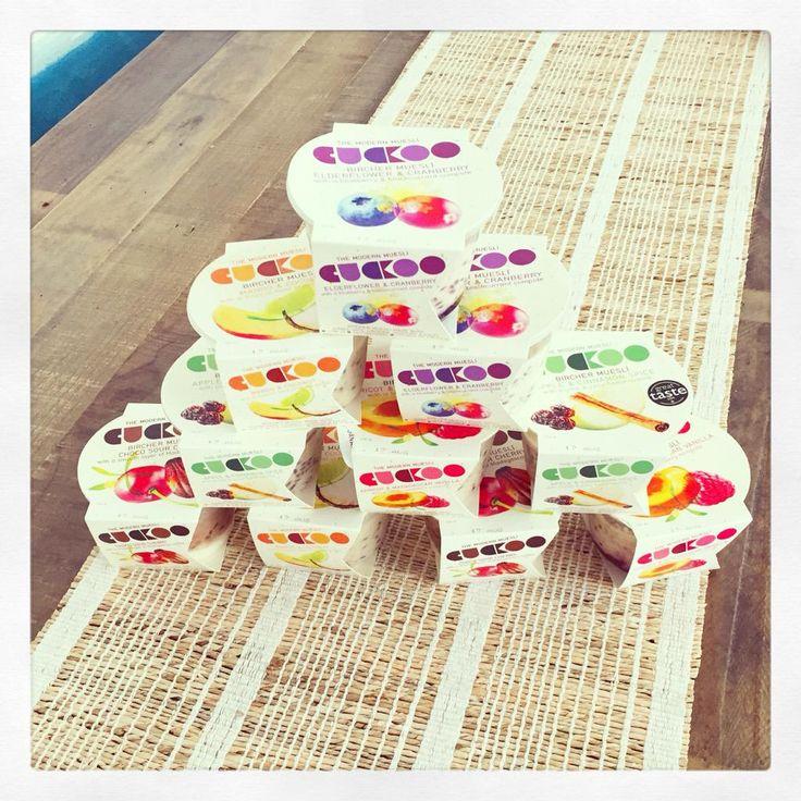 @cuckoofoods visited the @OrganicBurst team! #BircherMuseli #breakfast #food #foodie #bircher