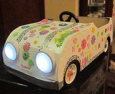 this drive in movie night car is super creative - Cars For Girls To Drive Kids