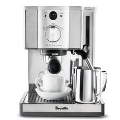 Breville Café Roma Espresso Maker with Cups