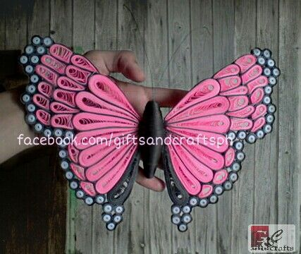 "For order and queries Sms/call 09235861899 or msg us on facebook.com/giftsandcraftsph Follow us on twitter @GiftsCraftsPH and IG @giftsandcraftsph ""It's not just creativity, it's about the person you're becoming when you're creating."" <3  #butterfly #papercraft #handmade #giftsandcraftsph #colors #gcphbutterfly #gcphbutterflywings #ilovegcph #pink"