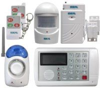 Ideal Security SK634 7 Piece Home Security System with Telephone Dialer by Ideal Security