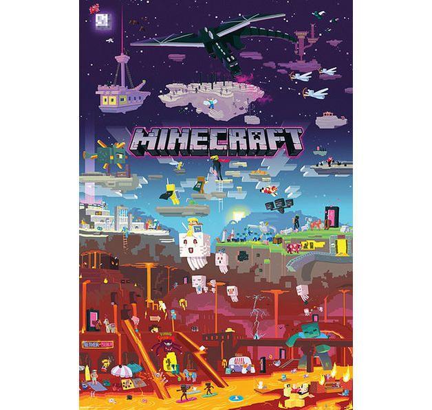 best 25 minecraft posters ideas on pinterest wall. Black Bedroom Furniture Sets. Home Design Ideas