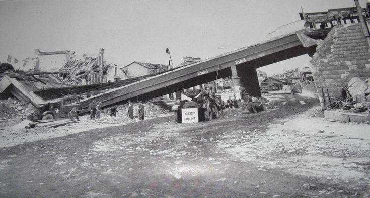 Le pont ferroviaires de la rue de la Gare, Vaucell