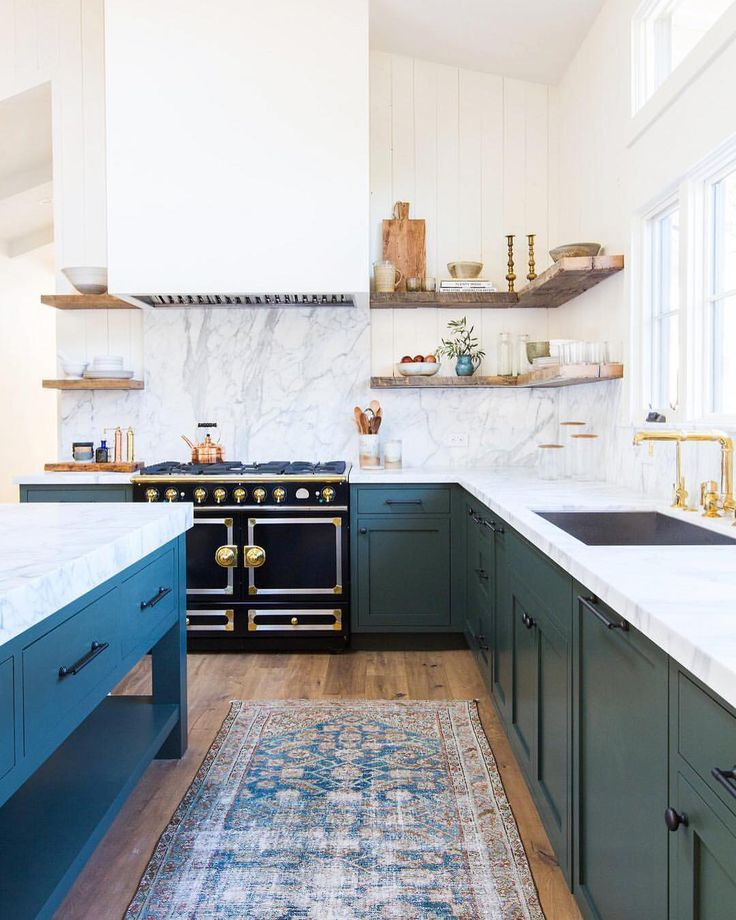 """12.3k Likes, 81 Comments - MyDomaine (@mydomaine) on Instagram: """"Different day, same serious kitchen obsession.  
