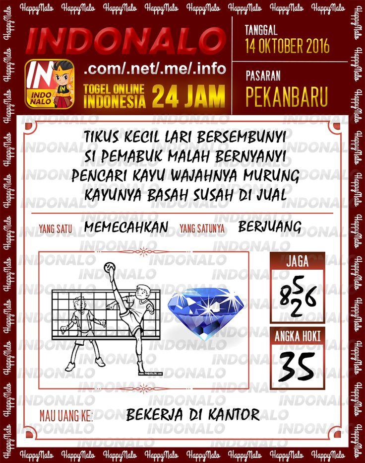 Colok SDSB Togel Online Live Draw 4D Indonalo Pekanbaru 14 Oktober 2016