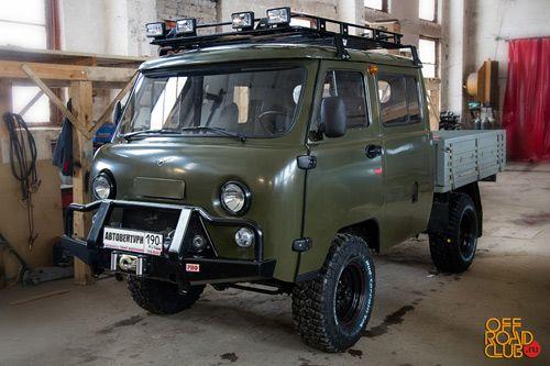 Тюнинг УАЗ 39094 Фермер 2013, выполненный тюнинг-центром Автовентури.
