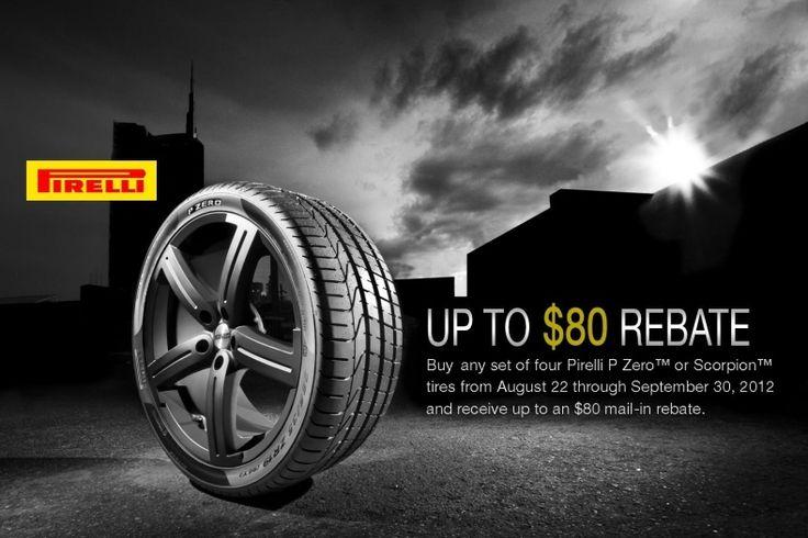 Pirelli Tires Rebate