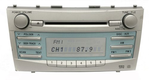 Toyota Camry 2007-2009 AM FM Radio mp3 Single Disc CD Player 86120-06180 - 11815