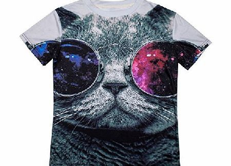 S-ZONE 3D Cool Cat Animals Sweatshirts Space Print Pullovers T-Shirt Tee Tops No description (Barcode EAN = 0634122175973). http://www.comparestoreprices.co.uk/large-screen-tvs/s-zone-3d-cool-cat-animals-sweatshirts-space-print-pullovers-t-shirt-tee-tops.asp