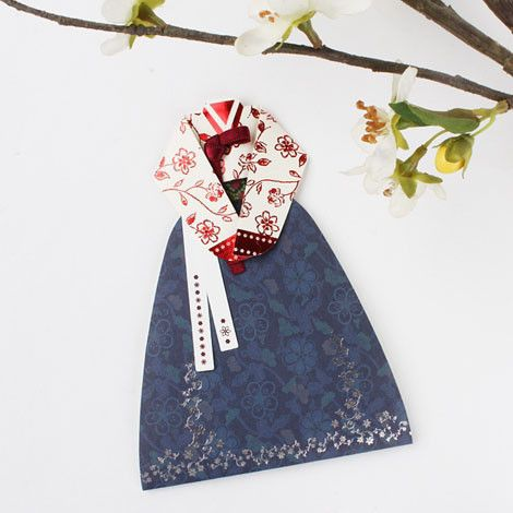 Korean costume, Traditional Korean dress, Hanbok,cards,letters, by Korea | KollectionK