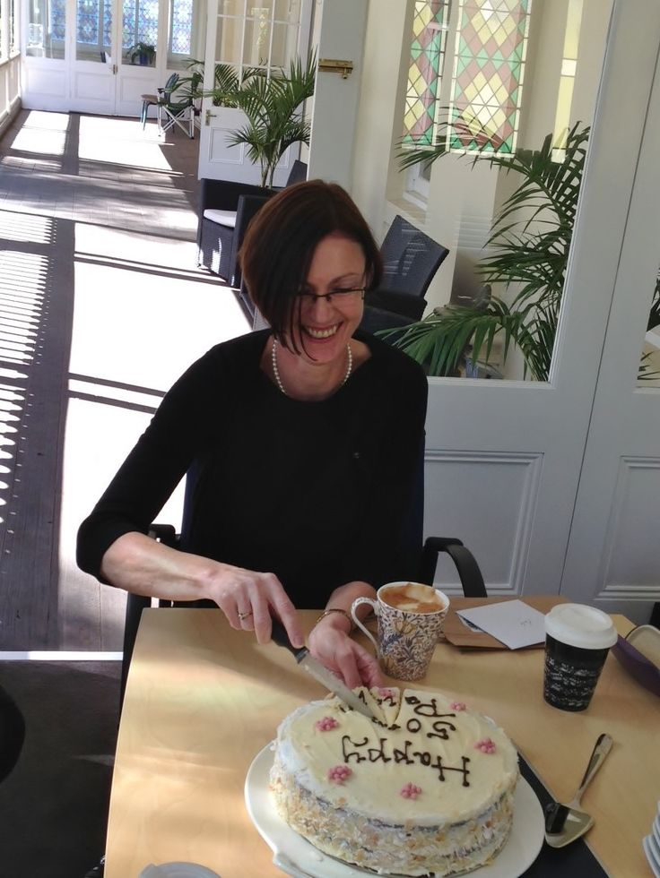 #Birthdays - Happy birthday to Paula. The #orange and #almond #cake was made by #Gips restaurant and was delicious. www.monashgroup.coma.au