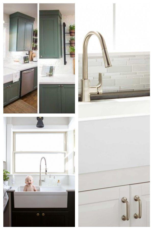Farmhouse Sink Fixer Upper White Kitchens 26 Ideas For 2019