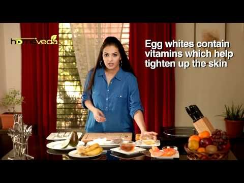 Prevent and treat wrinkles with natural home remedies using egg white. For complete information check this short video from http://www.homeveda.com !  Visit us to discover over 1000 natural home remedies & information about symptoms & causes for over 200 common as well as chronic health conditions.    SUBSCRIBE TO HOMEVEDA:  http://www.youtube.com/...