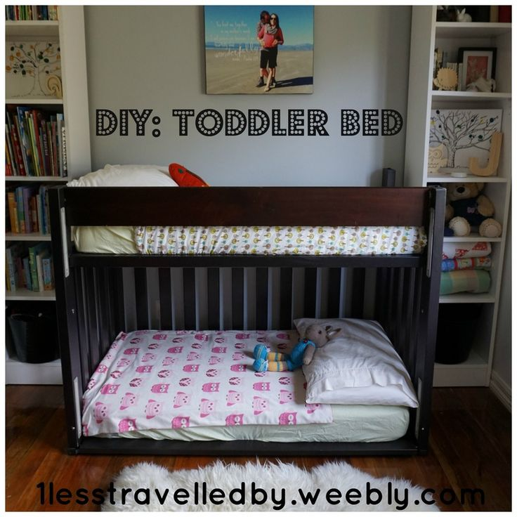 DIY: Toddler Bunk Bed - 1lesstravelledby.weebly.comLiving a ...