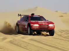 Citroen ZX rally raid car