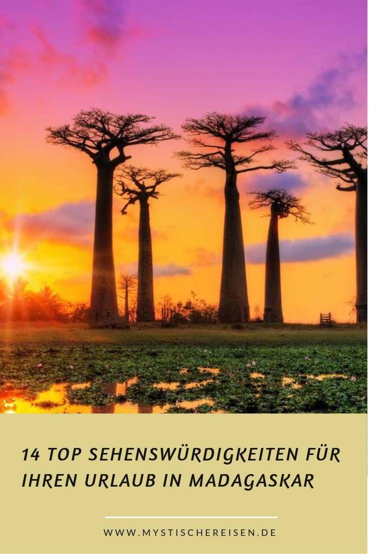 14 Top Sehenswurdigkeiten Fur Ihren Urlaub In Madagaskar Madagaskar Reisen Madagaskar Urlaub Afrika Urlaub