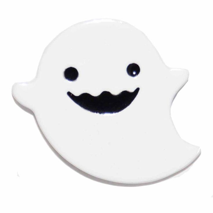 Enamel Pin - Ghost