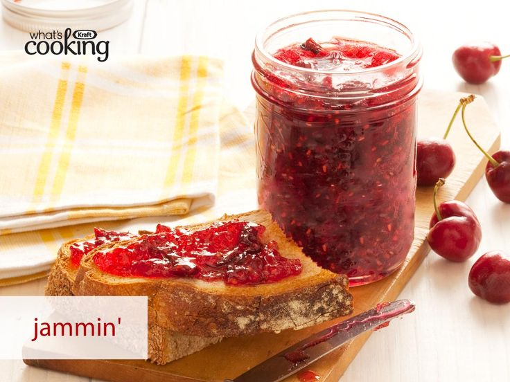 Cherry-Raspberry Jam #recipe