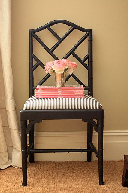 Love The Black Bamboo Chair One Day When I Have A Dining Room Table