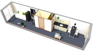 Student Housing Diemen Container Homes Pinterest