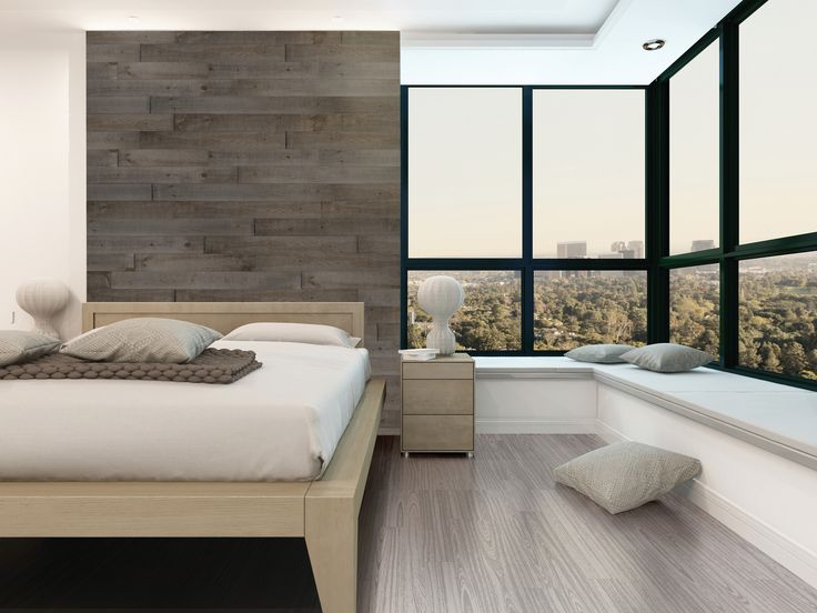 Mixing The Rustic Look Of The Wall Concept Product With Modern Design  Furniture And Flooring Seems