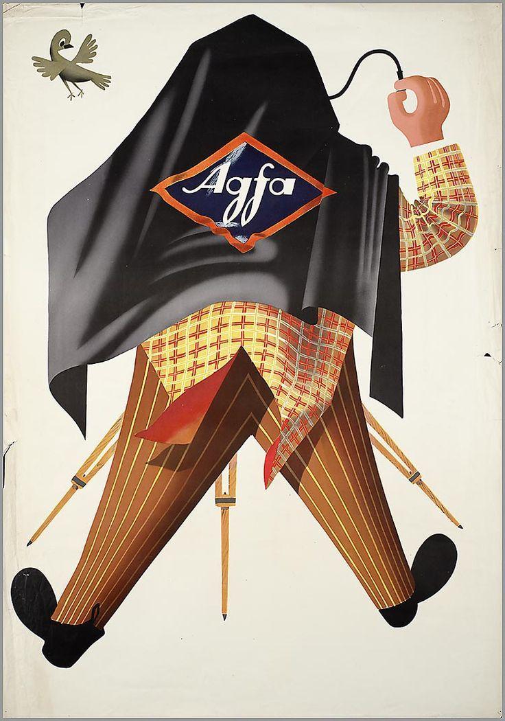 Agfa film advertisement 1950/1952