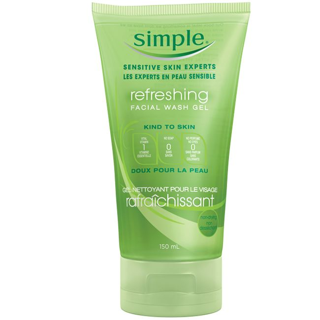 Simple Refreshing Face Wash Gel #GotItFreeFromSecret