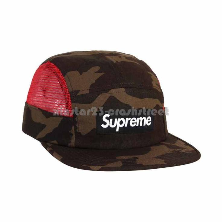 Supreme SS13 Side Mesh Box Logo Camp Cap