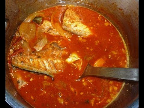Canned Mackerel Curry (Sri Lankan style) Quick & Easy