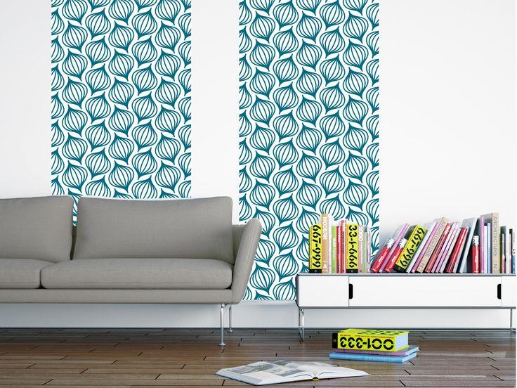 les 25 meilleures id es de la cat gorie papier peint bleu canard sur pinterest d coration. Black Bedroom Furniture Sets. Home Design Ideas