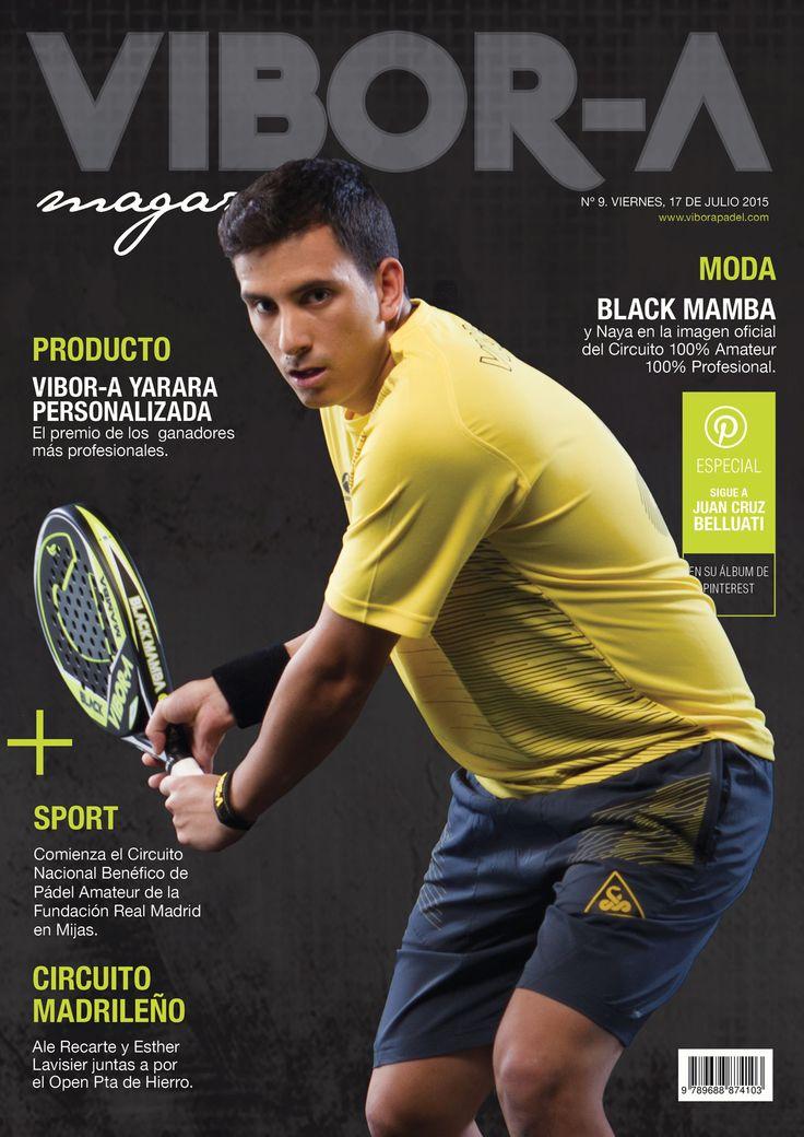 Juan Cruz Belluati en portada.