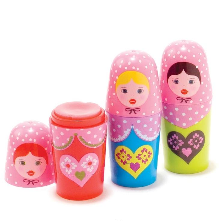 Russian Doll Lip Balm | Hawkins Bazaar