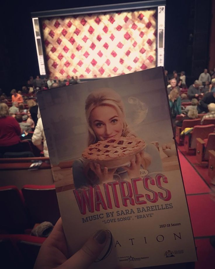 "Waitress  ""Inspired by Adrienne Shelly's beloved film WAITRESS tells the story of Jenna a waitress and expert pie maker who dreams of a way out of her small town and loveless marriage. A baking contest in a nearby county and the town's new doctor may offer her a chance at a fresh start while her fellow waitresses offer their own recipes for happiness. But Jenna must summon the strength and courage to rebuild her own life. (waitressthemusical.com)  This musical was such a pleasant surprise! I…"