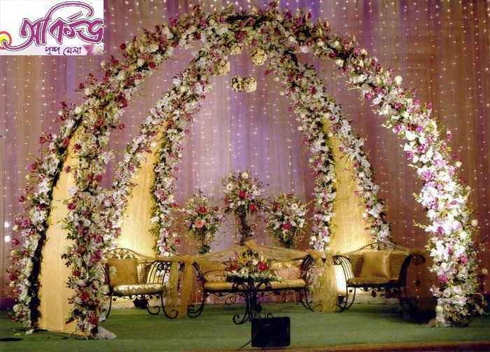 1000+ images about Half saree stage decorations on Pinterest