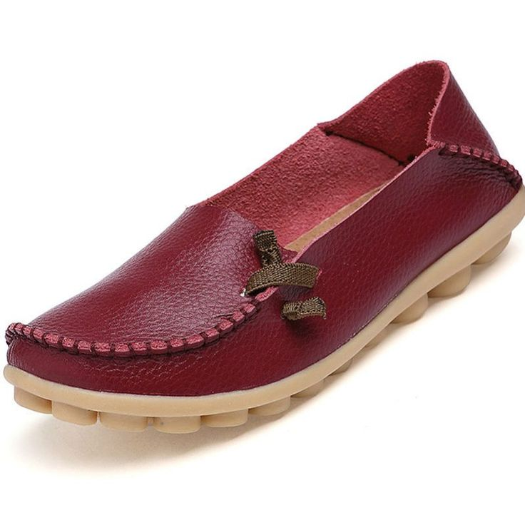 Strap Leather Loafer Shoes //Price: $19.82 & FREE Shipping //     #fashion