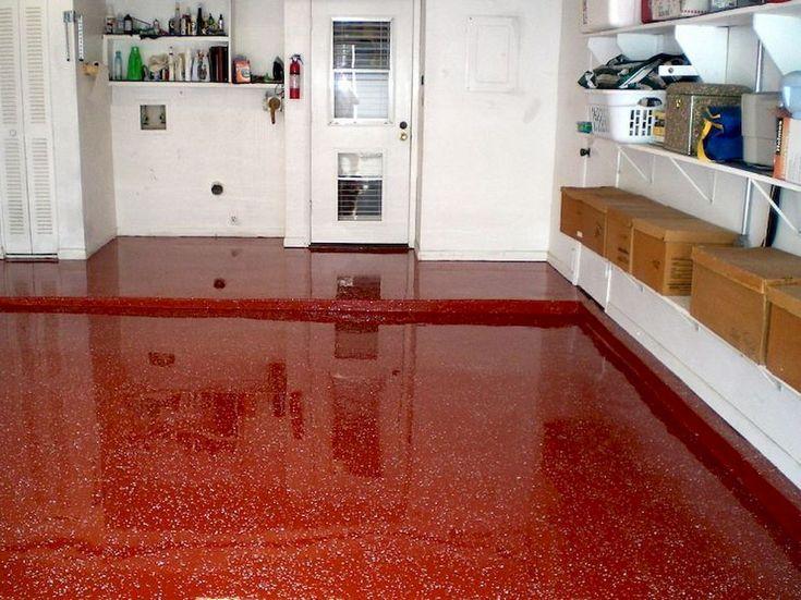 Elegant ceramic tile garage floor the main choice for