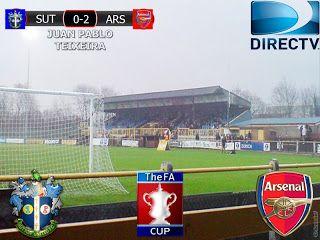 FA Cup 2016/17 5º Ronda: Sutton United 0-2 Arsenal