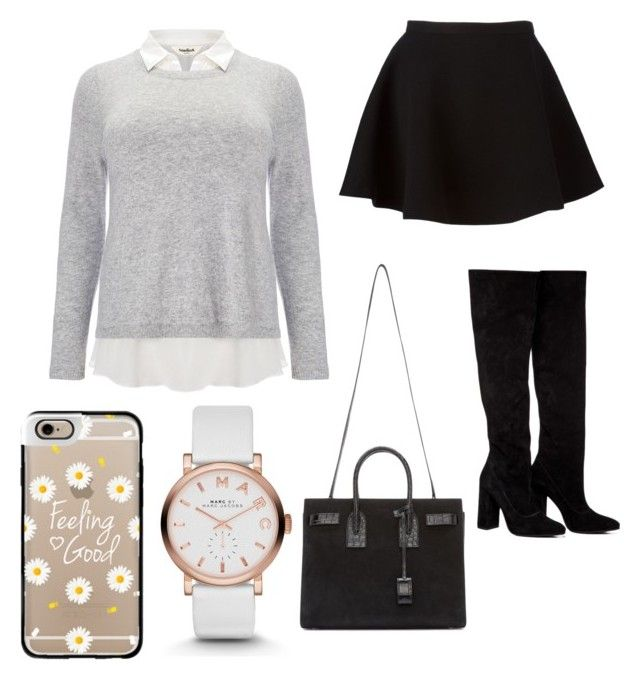 """""""Primsus #03"""" by oktaeprimsus on Polyvore featuring Studio 8, Neil Barrett, Anouki, Yves Saint Laurent, Marc by Marc Jacobs and Casetify"""