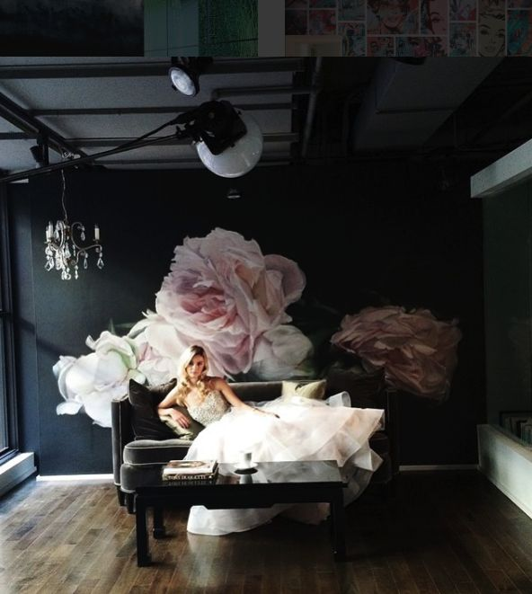 "photo shoot for MSP Magazine stylist Liz Gardner : ""Peonies Pink"" Thomas Darnell"