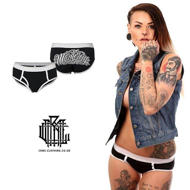 """Murderous"" Underwear available at www.crmc-clothing.co.uk 