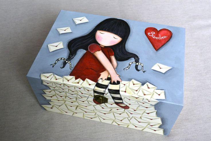 Las 25 mejores ideas sobre cajas decoradas en pinterest y - Caja joyero ikea ...