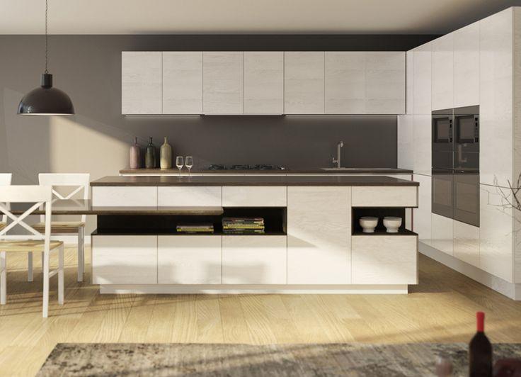 Pentru cei care preferă stilul minimalist modern, recomandarea noastră este modelul Poro Aperto. Acesta panouri furniruite din frasin cu periaj pe suprafață au posibilitate de dimensionare la cererea clientului și personalizarea culorii pentru cei care doresc să dea o notă modernă și de stil mobilierului.