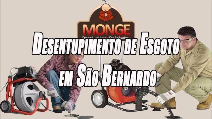 Desentupimento de Esgoto em São Bernardo - Desentupidora Monge