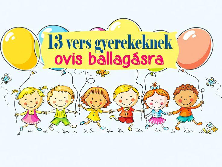 Óvodabúcsúztató versek - 13 aranyos vers gyerekeknek ovis ballagásra