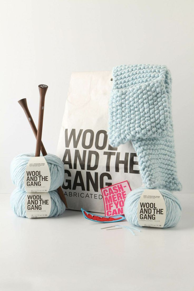 Wool and The Gang Packaging!!