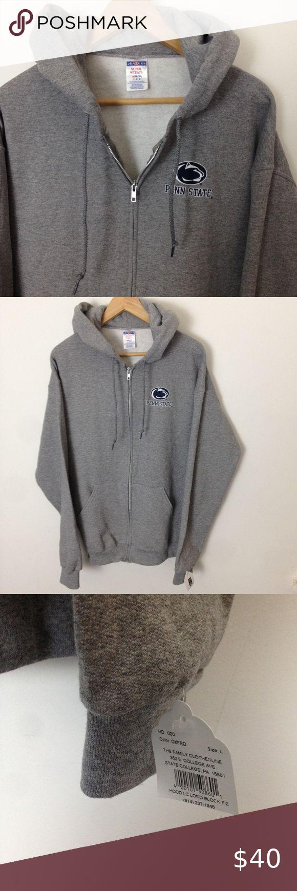 Penn State University L Zip Hoodie Sweatshirt Nwt Sweatshirts Hoodie Sweatshirts Zip Hoodie [ 1740 x 580 Pixel ]